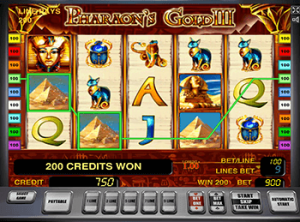 Pharaohs Gold III онлайн автомат в Вулкане