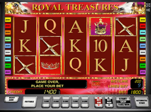 Игровое онлайн казино Вулкан и автомат Royal Treasures