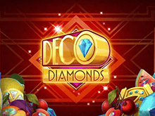 Играть в автомат Deco Diamonds от казино Вулкан